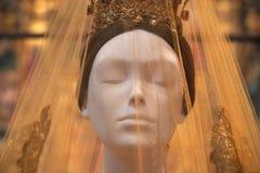 NEW YORK, U.S.A. - 27 maggio 2018 - corpi celesti: Adatti e l'immaginazione cattolica al museo Met immagini stock