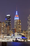 NEW YORK, U.S.A. - New York dei quartieri alti Fotografie Stock