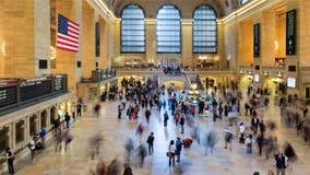 NEW YORK, U.S.A. - 26 SETTEMBRE 2013: vista del corridoio principale di Gra Immagini Stock