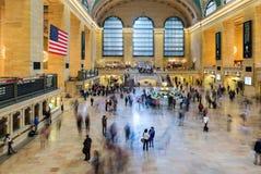 NEW YORK, U.S.A. - 26 SETTEMBRE 2013: vista del corridoio principale di Gra Fotografia Stock Libera da Diritti