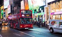 NEW YORK, U.S.A. - Times Square Fotografia Stock Libera da Diritti
