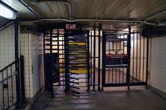 New York underground Stock Photography