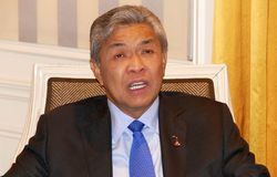 NEW YORK, UNITED STATES - AUGUST 24TH, 2016. Ahmad Zahid Hamidi, Deputy Prime Minister of Malaysia Stock Image