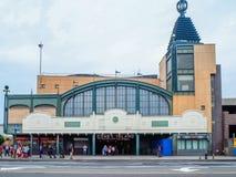 New York - United States,  Coney Island  subway station in New York stock photo