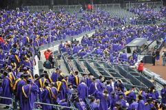 New York University (NYU) 181st Commencement Ceremony Stock Image