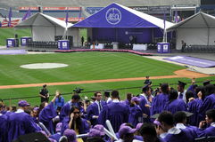 New York University (NYU) 181st Commencement Ceremony Stock Photos