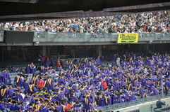 New York University (NYU) 181st Commencement Ceremony Stock Photography