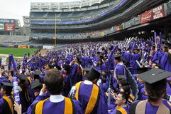 New York University (NYU) 181st Commencement Ceremony Stock Images