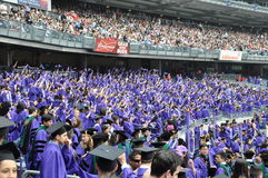 New York University (NYU) 181st Commencement Ceremony Royalty Free Stock Photography
