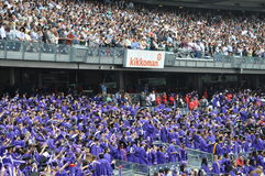New York University (NYU) 181st Commencement Ceremony Royalty Free Stock Image