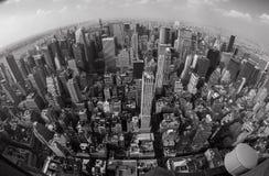 New York uppifrån Arkivbilder