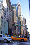 New York urban architecture Stock Photo
