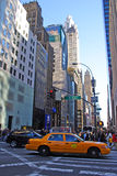 New York urban architecture Stock Images