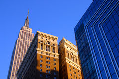 New York urban architecture Stock Photography