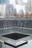 NEW YORK, US - NOVEMBER 22: 9/11 memorial memorial commemorating Stock Photos