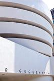 Facade av det Guggenheim museet Arkivbild