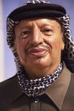 Yasser Arafat in Madame Tussauds of New York. New York, USA - April 30, 2018: Yasser Arafat in Madame Tussauds of New York stock photos