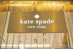Free NEW YORK, USA - August, 2018: Official Kate Spade New York Store At Oculus Shopping Center, New York. Royalty Free Stock Photo - 124759075