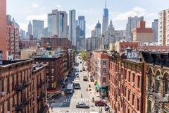 NEW YORK, USA - 5. AUGUST 2017: Chinatown in Manhattan auf Augus Stockfoto