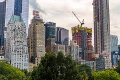 NEW YORK, USA - 8. AUGUST 2017: Die Hausansicht JW Marriot Essex Stockfotos