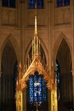 NEW YORK, USA - August 28, 2018: St. Patrick`s Cathedral, New York royalty free stock photography