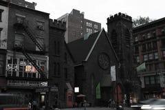 NEW YORK USA - Augusti 31, 2018: New York City Manhattan arkivbilder