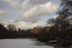 New york, usa central park stock photography