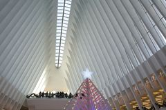 the Oculus in World Trade Center, New York Royalty Free Stock Image