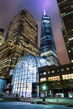NEW YORK, USA - Freedom Tower in Lower Manhattan Royalty Free Stock Images