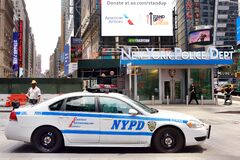 Free NEW YORK, USA - July 10, 2019: NYPD Car On Background Of New York Police Department On Downtown Of Manhattan Stock Photos - 170268763
