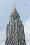 NEW YORK - USA - 11 JUNE 2015 chrysler building new york on cloudy day Stock Photos