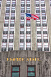NEW YORK - USA - 11 JUNE 2015 - Empire State Building view at night Royalty Free Stock Image