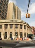New York, USA - June 9, 2018: United States Postal Service USPS royalty free stock photo