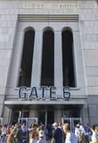 New York, USA; Am 22. Juni 2017; Match zwischen den New York Yankees und den Los Angeles-Engeln am Yankee Stadium stockbilder