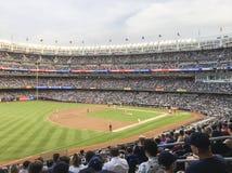 New York, USA; Am 22. Juni 2017; Match zwischen den New York Yankees und den Los Angeles-Engeln am Yankee Stadium lizenzfreies stockbild