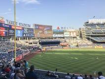 New York, USA; Am 22. Juni 2017; Match zwischen den New York Yankees und den Los Angeles-Engeln am Yankee Stadium lizenzfreies stockfoto
