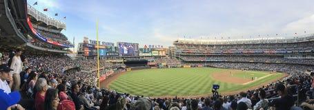 New York, USA; Am 22. Juni 2017; Match zwischen den New York Yankees und den Los Angeles-Engeln am Yankee Stadium lizenzfreie stockbilder
