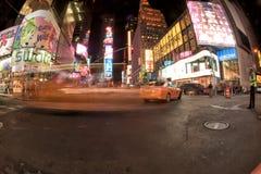 NEW YORK - USA 16 JUNI 2015 tider kvadrerar arbeten Fotografering för Bildbyråer