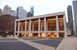 New York, USA - 29. Mai 2018: Theater Davids H Koch, New- Yorkverdichtereintrittslufttemperat lizenzfreie stockfotos