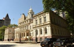 New York, USA - May 24, 2018: New York City Hall. New York, USA - May 24, 2018: New York City Hall Royalty Free Stock Image