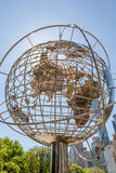 New York, USA- May 20, 2014. The Globe sculpture near the entran Stock Photography