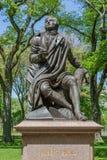 New York, USA- May 20, 2014. Memorial Scottish poet Robert Burns Stock Photo
