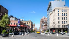 New York, USA, May 3rd 2013. Lifestyle in New York Neighborhoods stock image
