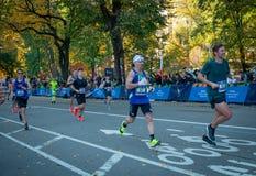 Annual New York City Marathon stock photo