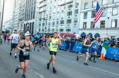 Annual New York City Marathon stock photography