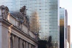 NEW YORK USA - NOVEMBER 27, 2017: Grand Central terminal GCT, Arkivbilder