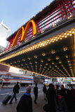 McDonald's at 42nd Street New-York Stock Image