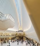 New York, USA - Oct 2017: The Oculus in the World Trade Center T Royalty Free Stock Photography