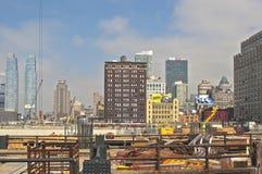 New York, USA - October, 5: New York City Panorama Viewed from C Royalty Free Stock Photos