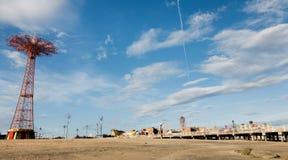 Coney Island Beach in New York City Royalty Free Stock Image